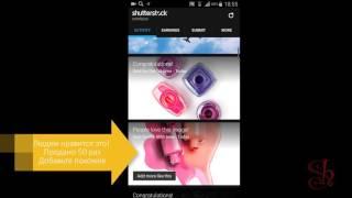 Shutterstock виджет