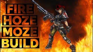 MOZE MAKES MAYHEM 4 EASY BEST MOZE BU LD  Fire Hoze Moze Build  Borderlands 3