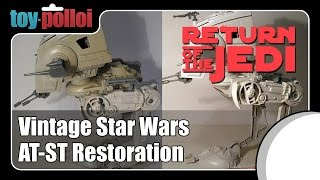 Fix It Guide - Star Wars AT-ST Restoration - Toy Polloi
