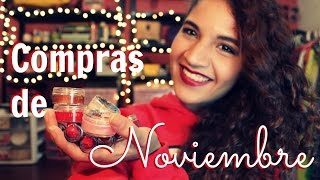 Compras de noviembre Thumbnail