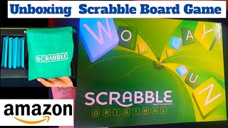 Scrabble Word Game Unboxing/Amazon Toys Unboxing/Scrabble Board Game/what is Scrabble Board Game screenshot 2
