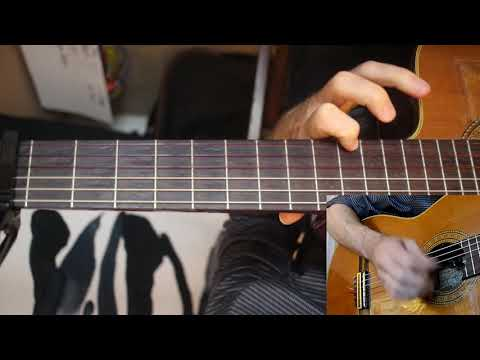 Happy (Pharrell Williams) Fingerstyle Guitar Hands-only View