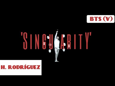 BTS V (방탄소년단) 'Singularity' COVER ESPAÑOL   Héctor Rodríguez
