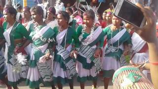 Sarhul dance latehar 2017