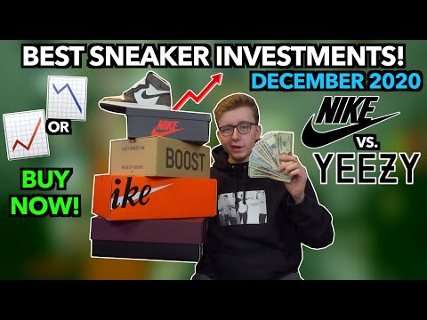 BEST SNEAKER INVESTMENTS RIGHT NOW! | Hold Jordan Retro's and Yeezy 350's | Future Price Predictions