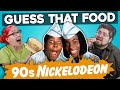 GUESS THAT FOOD: 90's Nickelodeon Food! (In Real Life)