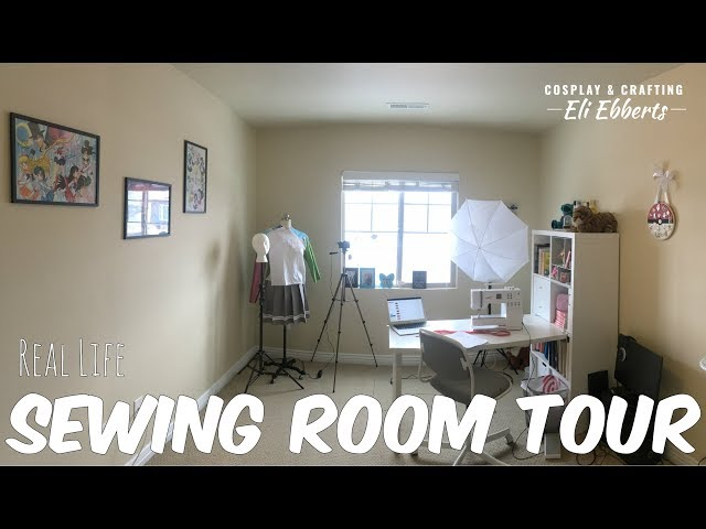 ☆[Vlog] Sewing Room Tour☆
