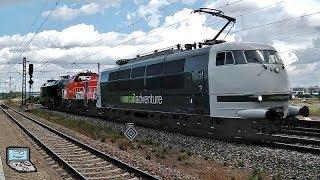 Mertingen mit Umleiter-ICEs (1, 2, 3, -T), railadventure 103, Güterzüge, Regios: BR 111, 440