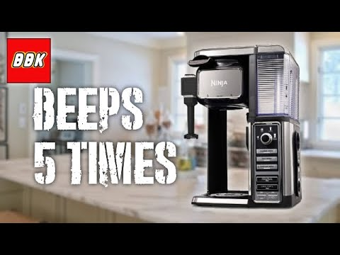 Fixing a Ninja Coffee Bar - Ninja Coffee Maker Beeps 5 Times and Won't Brew