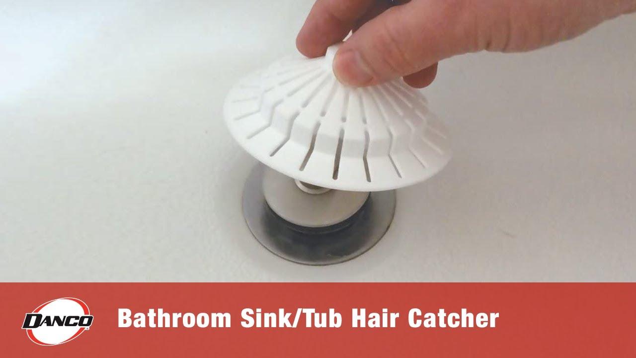 Bathroom Sink Hair Catcher Youtube