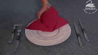 как сделать шлейф из салфеток