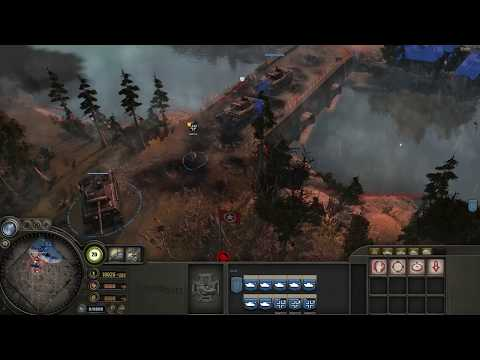 Company of Heroes-Eastern Front Gameplay Only-Tanks 2019  