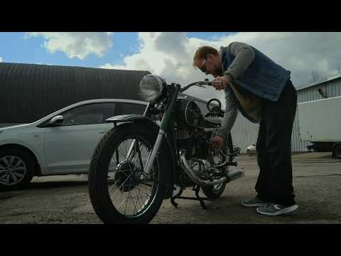 ИЖ-49, реставрация мотоциклов Ретроцикл.