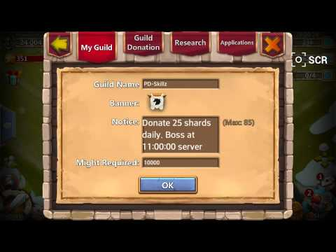 Castle Clash: Steps On How To Create A Guild.