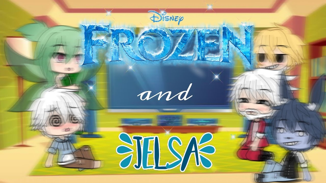 Download Rise of The Guardians react to Frozen/Jelsa