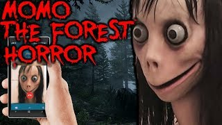 DON'T GO INTO THE FOREST IF MOMO IS AFTER YOU! - MOMO THE FOREST HORROR #Momo