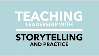 Teaching Leadership and Productivity With Storytelling and Practice, Authentic. Jeff Chavez