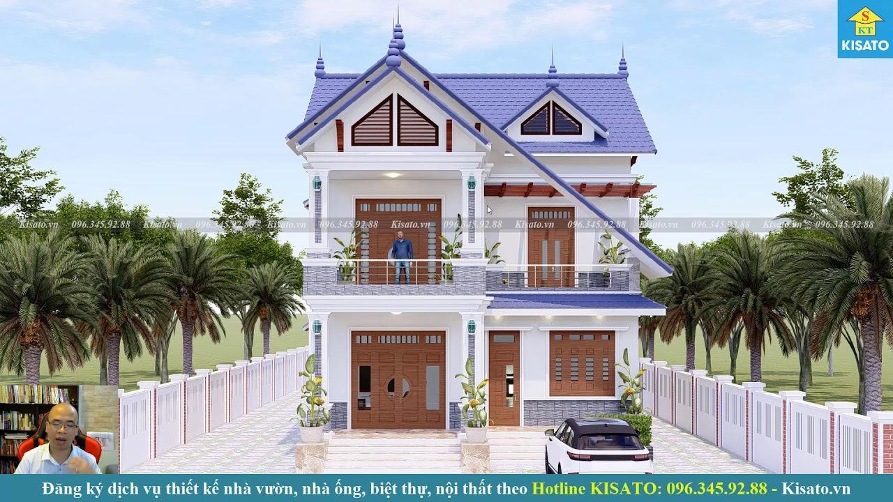 Mẫu Biệt Thự 2 Tầng Hiện Đại Đẹp Lạ Mắt Tại Quảng Ninh Quảng Bình