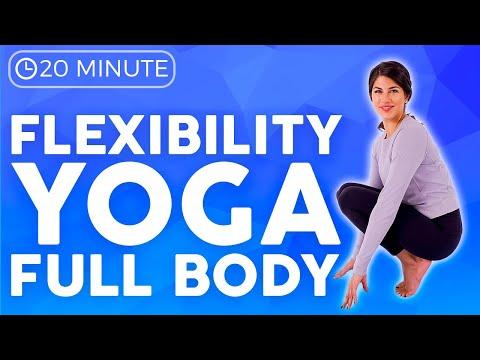 20 minute Full Body Flexibility Yoga Stretch | Sarah Beth Yoga
