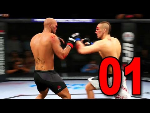 UFC 2 Career Mode - Part 1 - The Ultimate Fighter! (EA Sports UFC 2016 Gameplay)