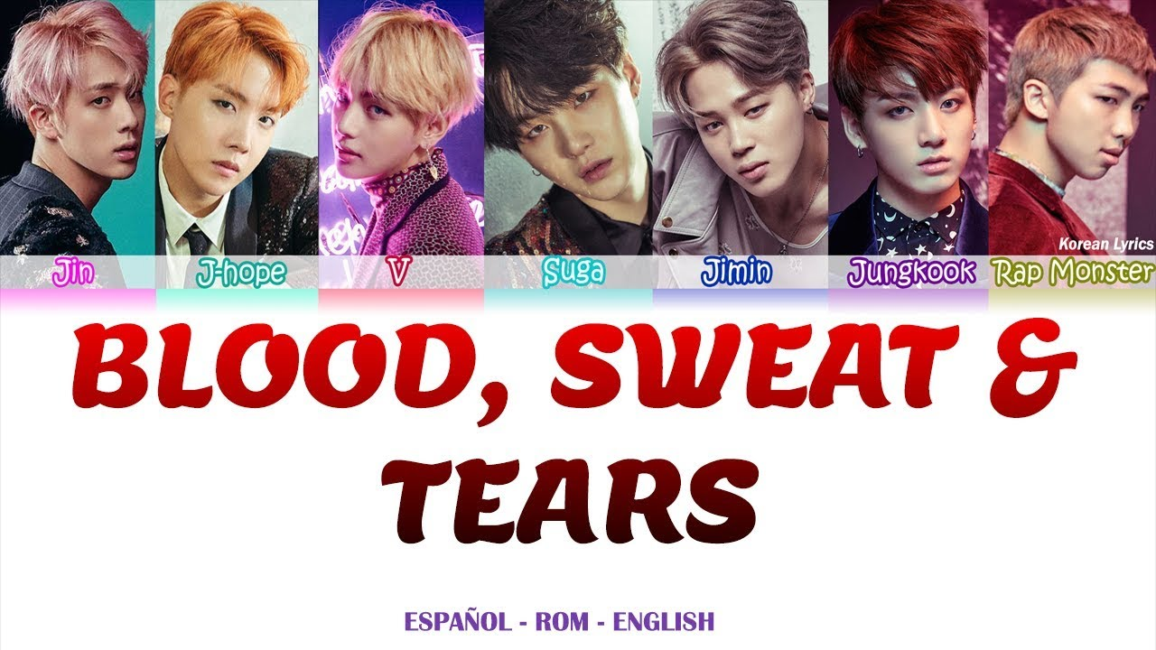BTS - Blood Sweat