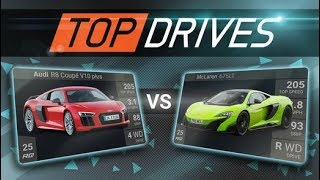 TOP DRIVES (Hutch Games) - Car Racing Game - Android / iOS Gameplay