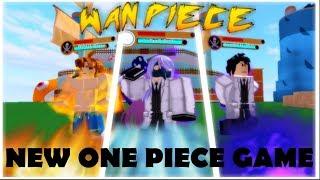 NEW & AMAZING ONE PIECE GAME !| WAN PIECE | Dragon Ball Z Final Stand lookalike | ROBLOX