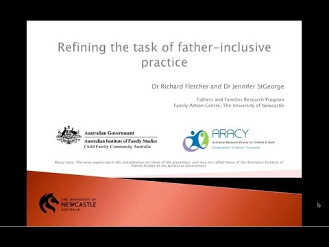 Webinar: Refining the task of father-inclusive practice