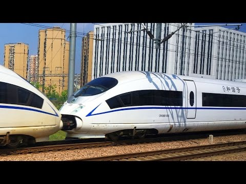 China High Speed Rail Shanghai - Xiamen in First Class