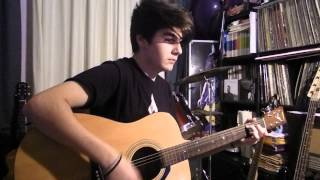 Kasabian - stevie - guitar acoustic cover by Nick