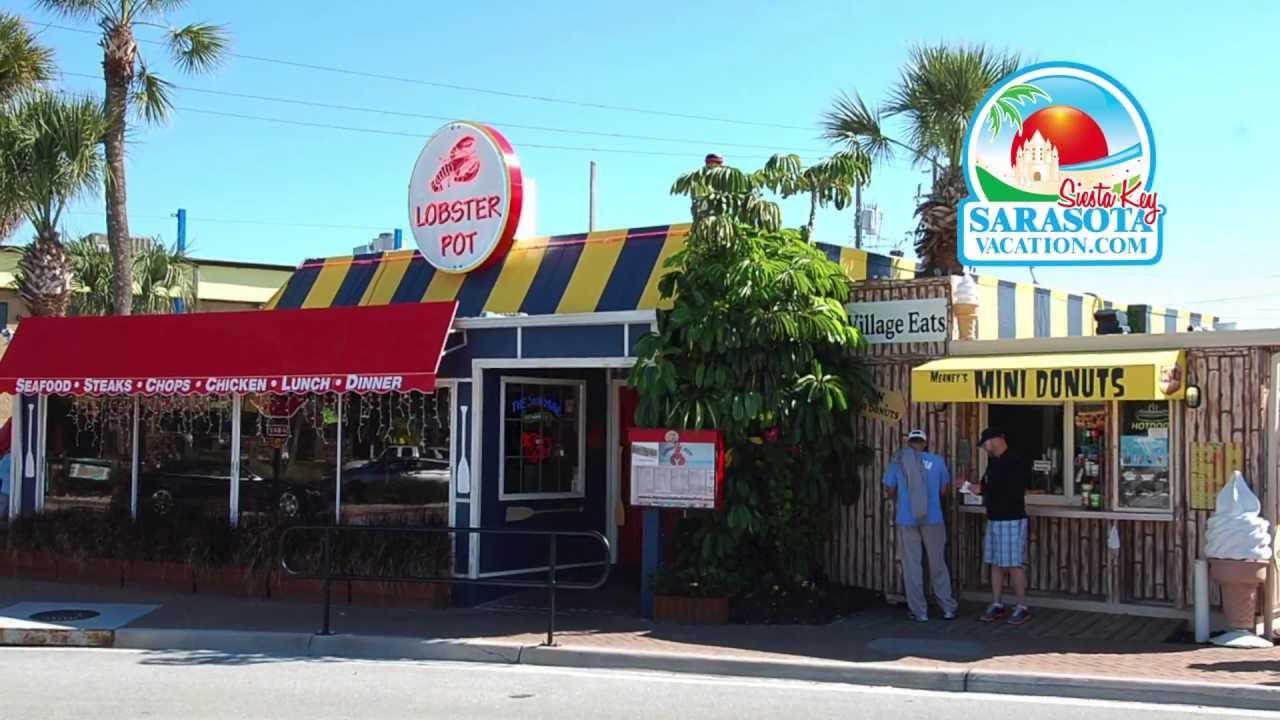 Siesta Key Village Stores Restaurants In Siesta Key Usa Youtube