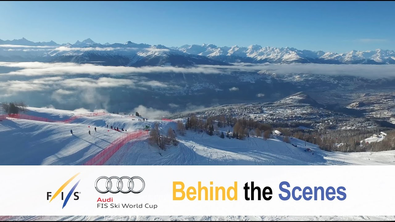 Crans-montana: now an annual stop with great ambitions - behind the scenes