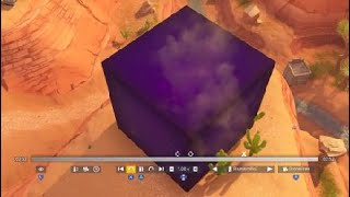 The crack is gone and something as appeared in Fortnite Battle Royale