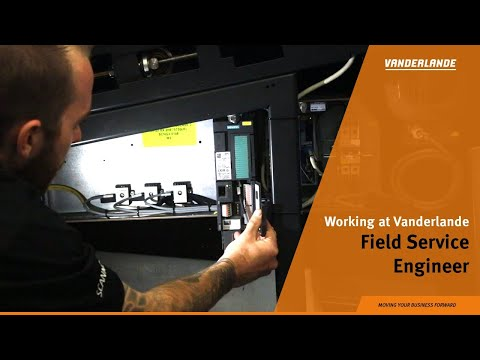 Working as a Field Service Engineer at Vanderlande