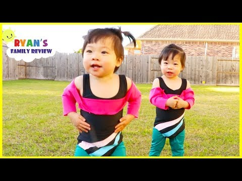 Body Parts Exercise Songs for Children Behind the Scene with Emma and Kate!