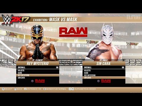 WWE 2K17 PS4/XB1 - Mask Vs Mask Match - Epic Gameplay Notion