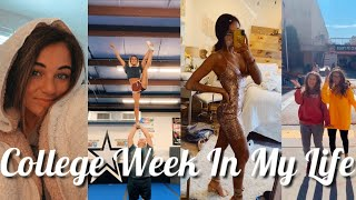 COLLEGE WEEK IN MY LIFE | semi prep, grocery shopping, merch, & more!!