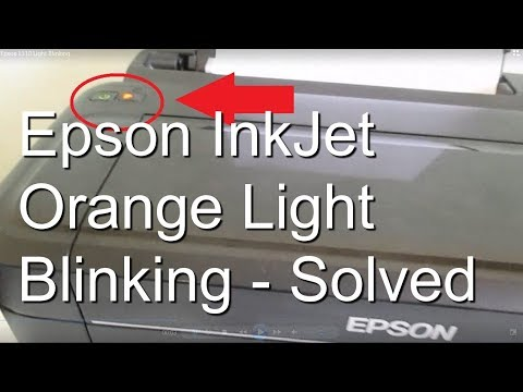 How to Reset Ink Pad End Of Its Service Life Reset Waste ink Pad Counter -  Epson Inkjet Printer