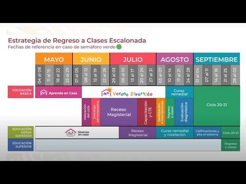 ESTRATEGIA DE REGRESO A CLASES SERÁ ESCALONADA EN NUEVA NORMALIDAD ...