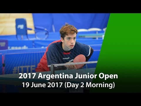 2017 ITTF Argentina Junior Open Day 2 (Morning)