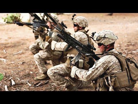 U.S. Marines Infantrymen Training