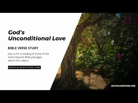 Bible Verses About God's Unconditional Love