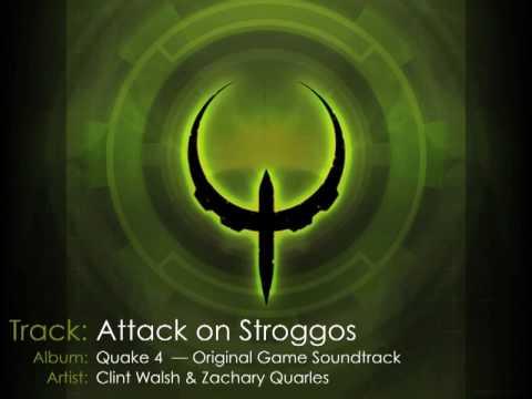 Quake 4 Original Game Soundtrack — 02 Attack on Stroggos