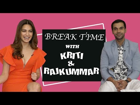 Break Time : Rajkummar Rao Imitates Epic Shaadi Characters Ft. Kriti Kharbanda