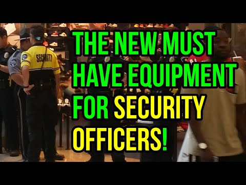 The New Must-Have Equipment For Security Guards