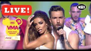 Αποσπάσματα από τις LIVE εμφανίσεις των Mad VMA 2018 by Coca-Cola & McDonald's