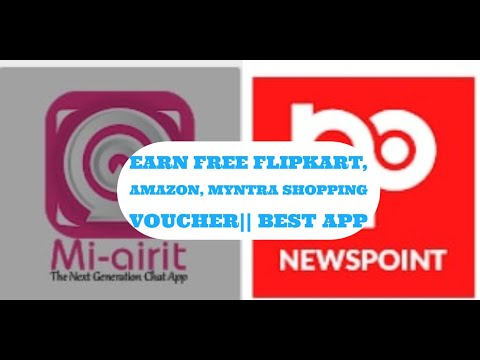 How To Get Free Flipkart, Amazon, Myntra Shopping Voucher   Best App    Amazon UPI Offer 