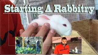Starting A Rabbitry Building Cages And Water System