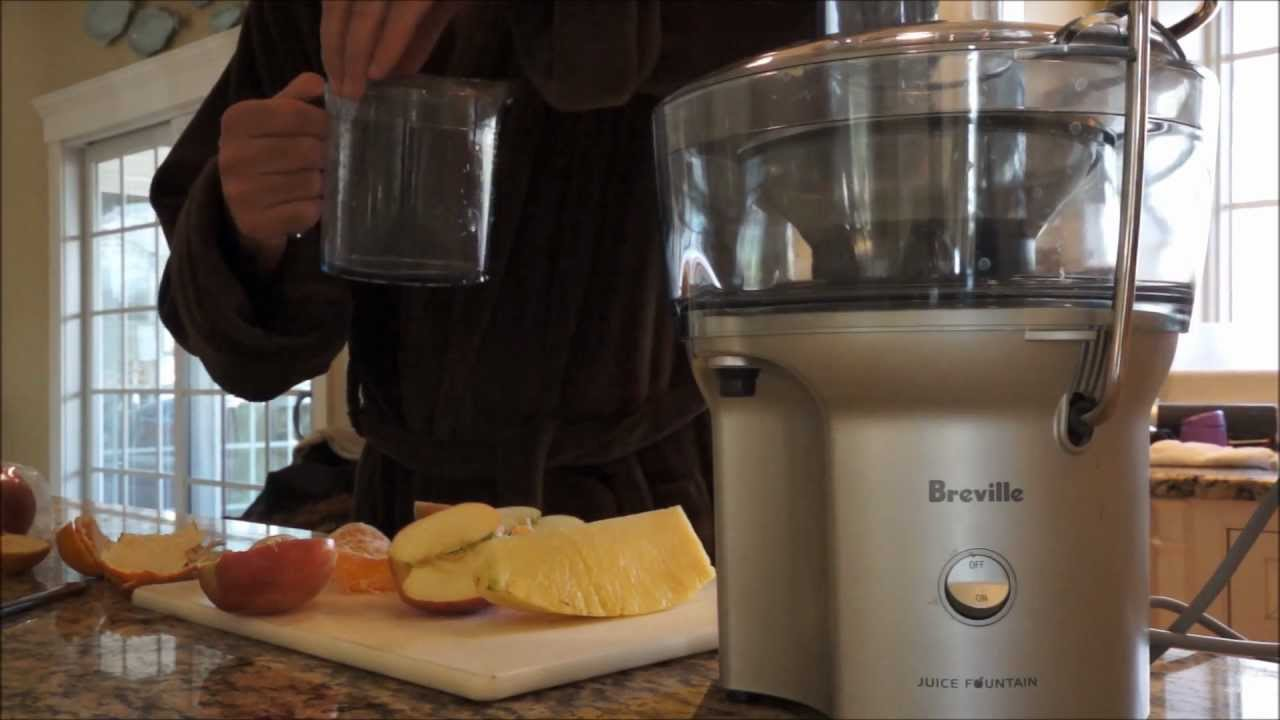 breville juice fountain compact fruit and vegetable juicer bje200xl youtube - Breville Juicer
