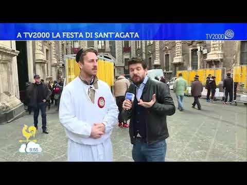 A TV2000 la festa di Sant'Agata